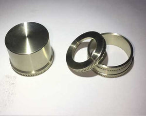 Nickel Silver Ring, Cap,  and Grip Check