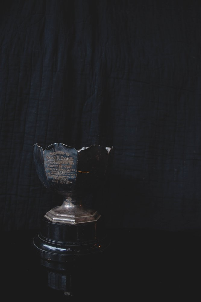 Antique silver plated trophy. Decorative antiques, product photography and styling Bristol Dig Haushizzle