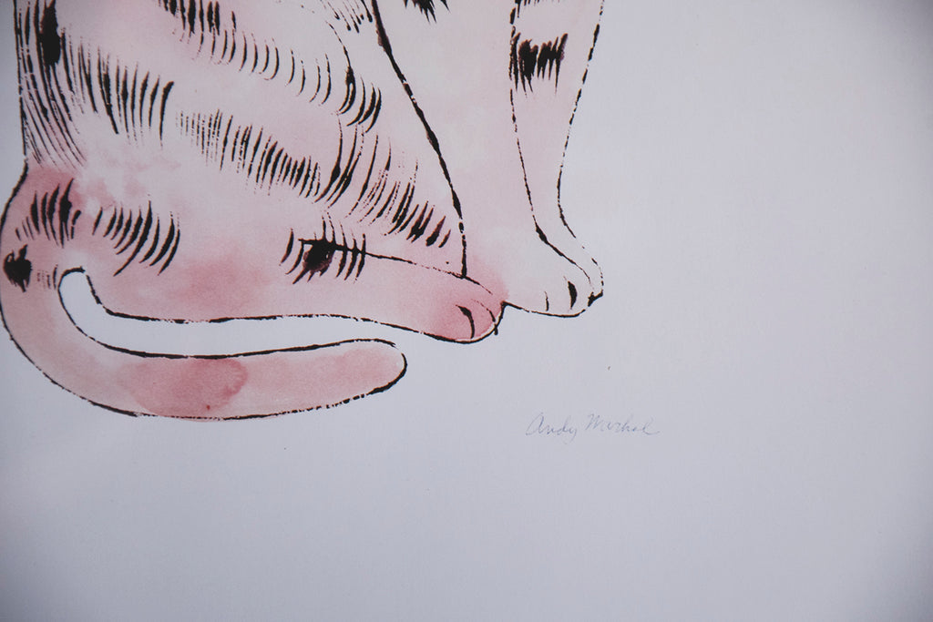 Vintage Andy Warhol Cats