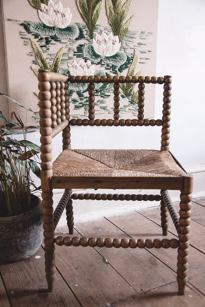 Corner Bobbin Chair