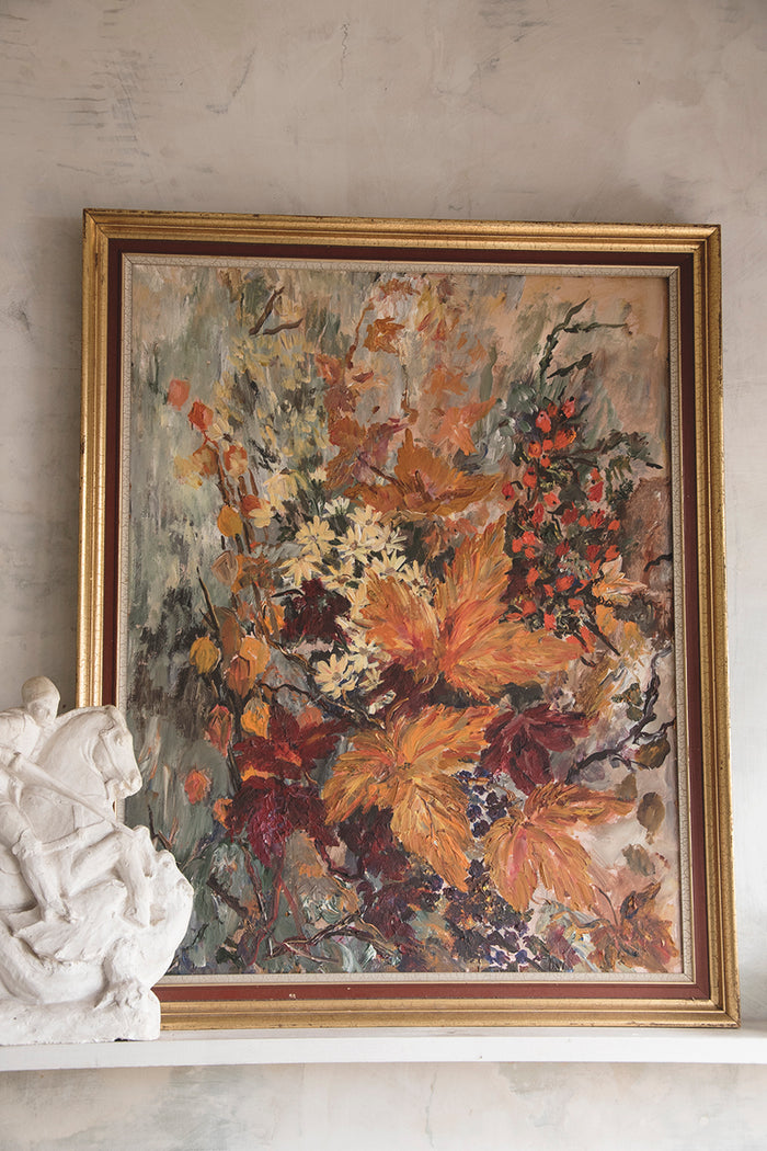 Framed Painting - Autumn