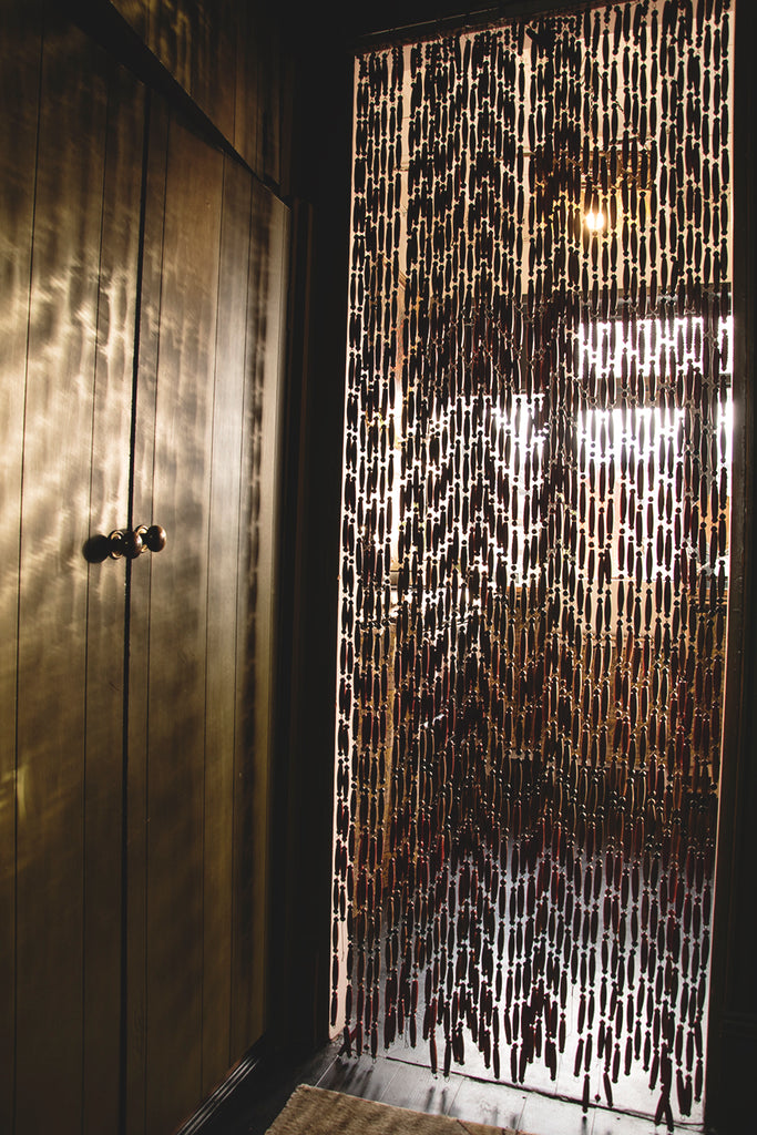 French Beaded Door Curtain
