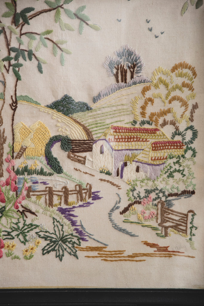 Mid 20th century Embroidery