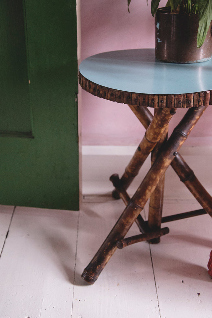 Bamboo Side Table