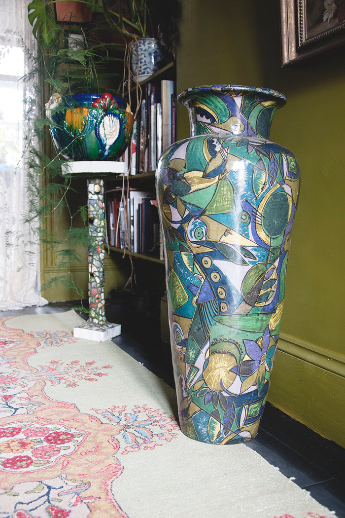 Oversized Decorative Urn