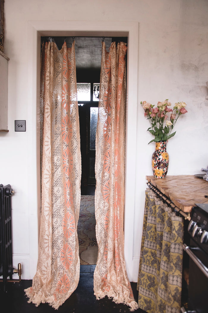 Pair of vintage curtains