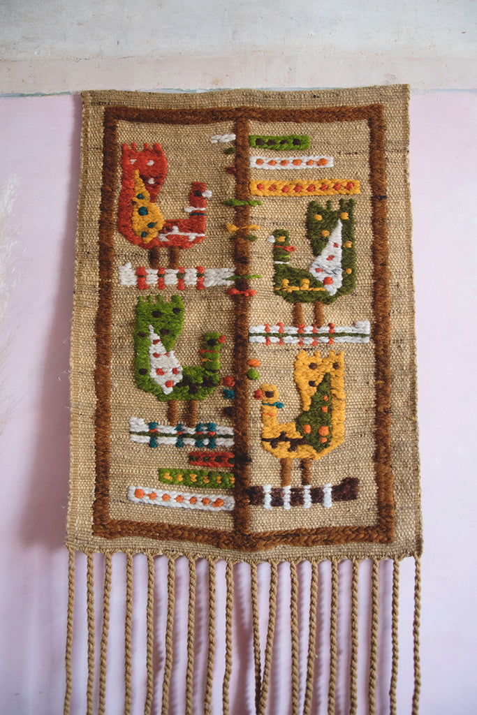 Vintage Wall Hanging