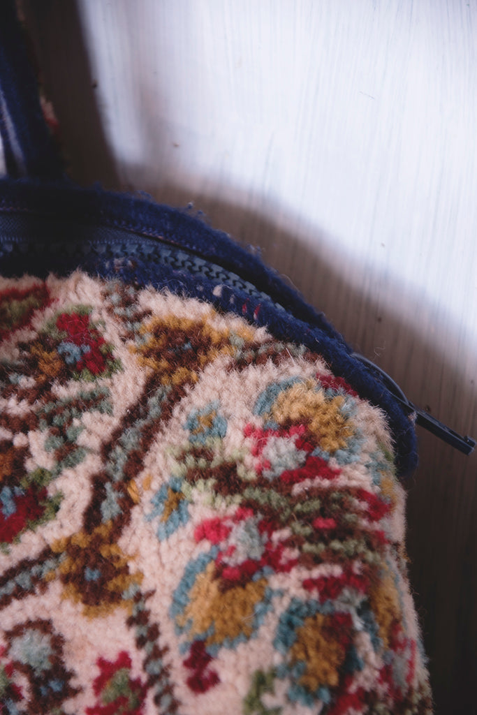 Vintage carpet bag