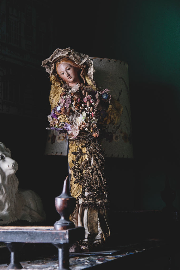 19th Century Italian Creche Doll