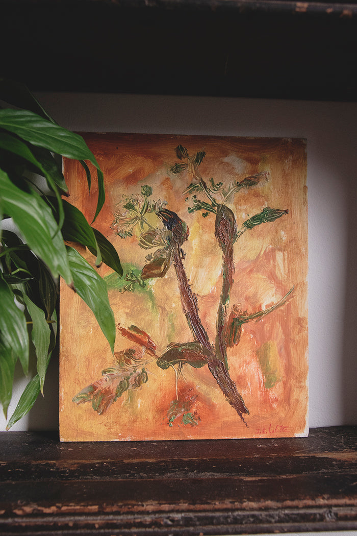 Jean-Roger Lafitte Painting - Botanical