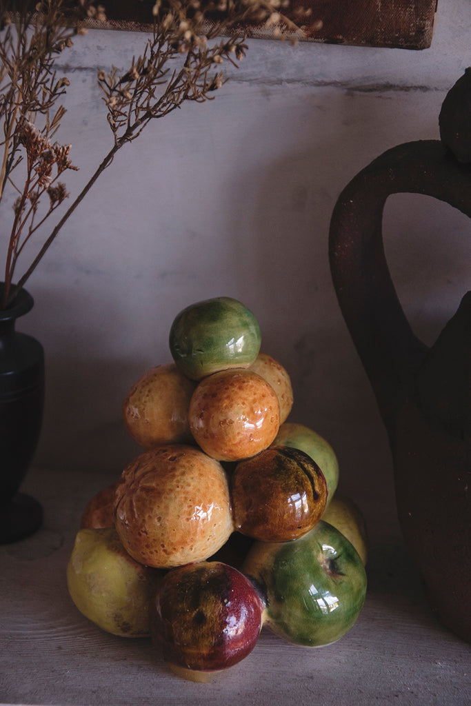 Vintage Ceramic Fruit