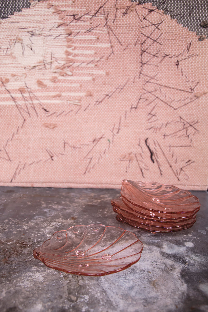 Dusty pink side shell plates.Interior Styling In Bristol