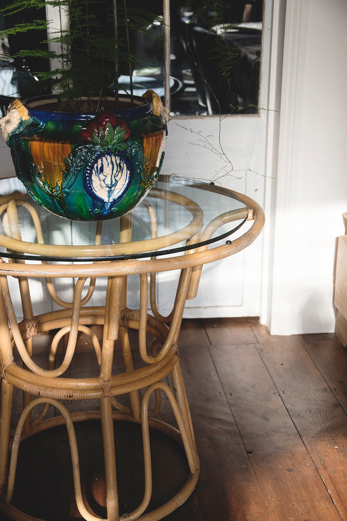 Vintage Bamboo Table