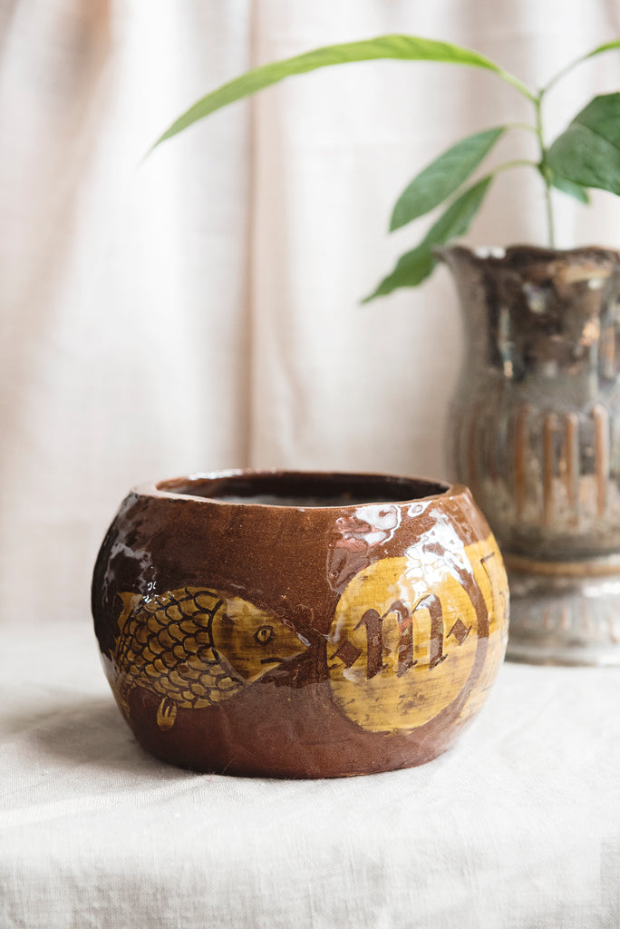 Handmade Earthenware Bowl