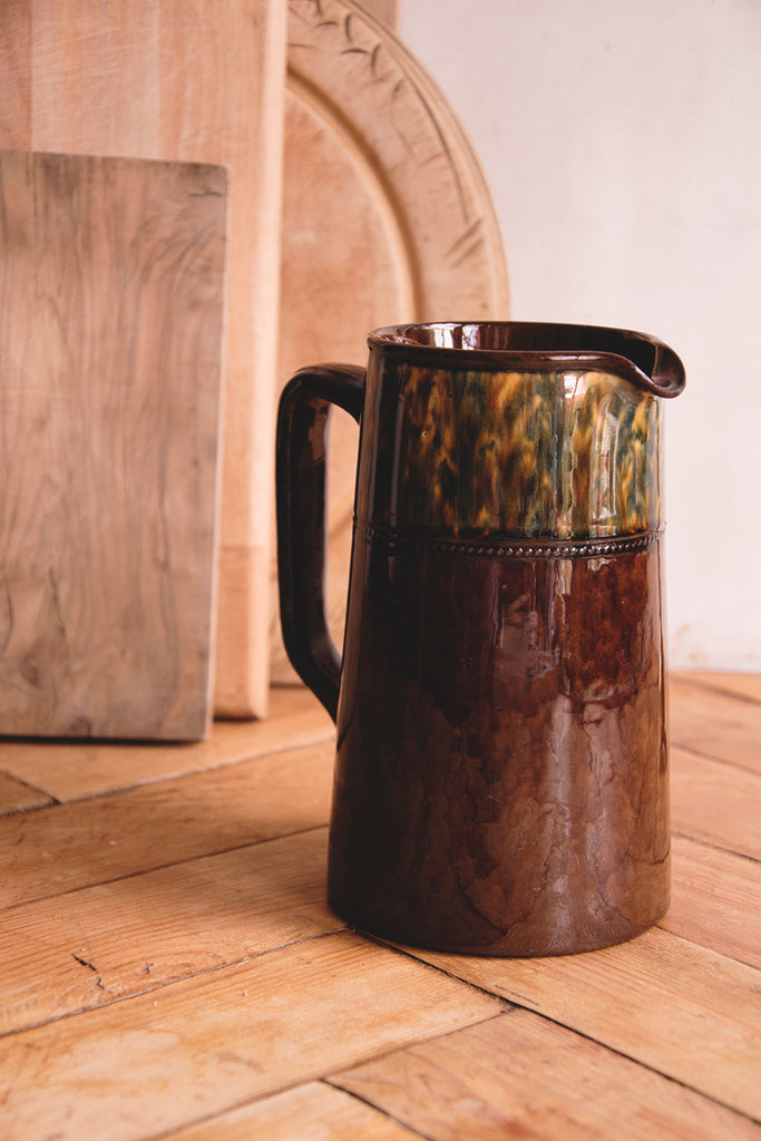 Glazed Stoneware Water Jug