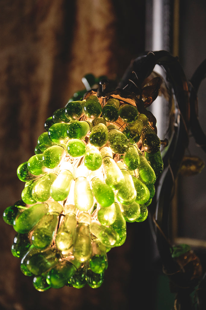 Murano Glass Grape Lamp