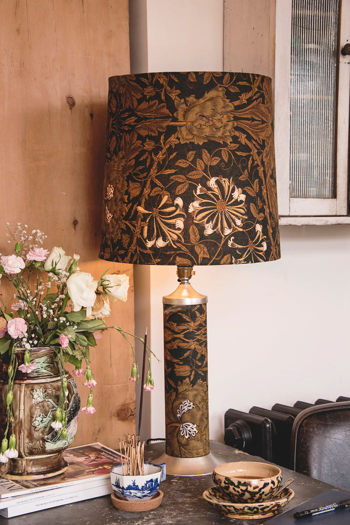 DURLSTON DESIGNS LTD FABRIC LAMP
