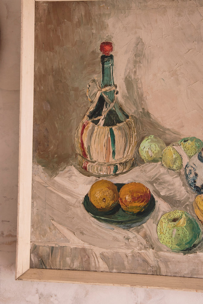 Still Life Painting On Canvas