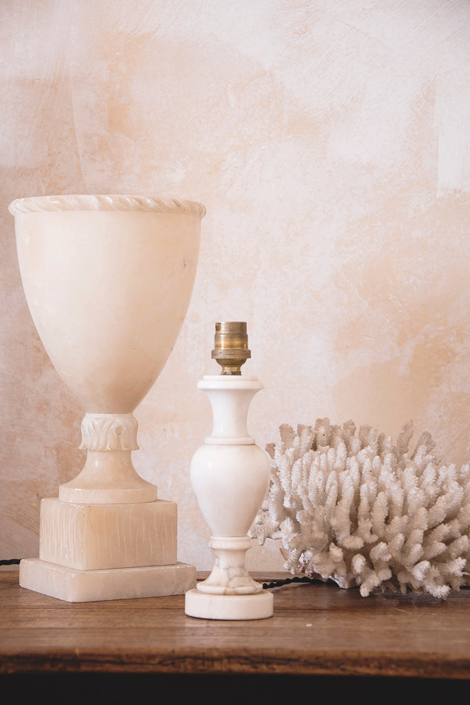 Small Marble Lamp Base