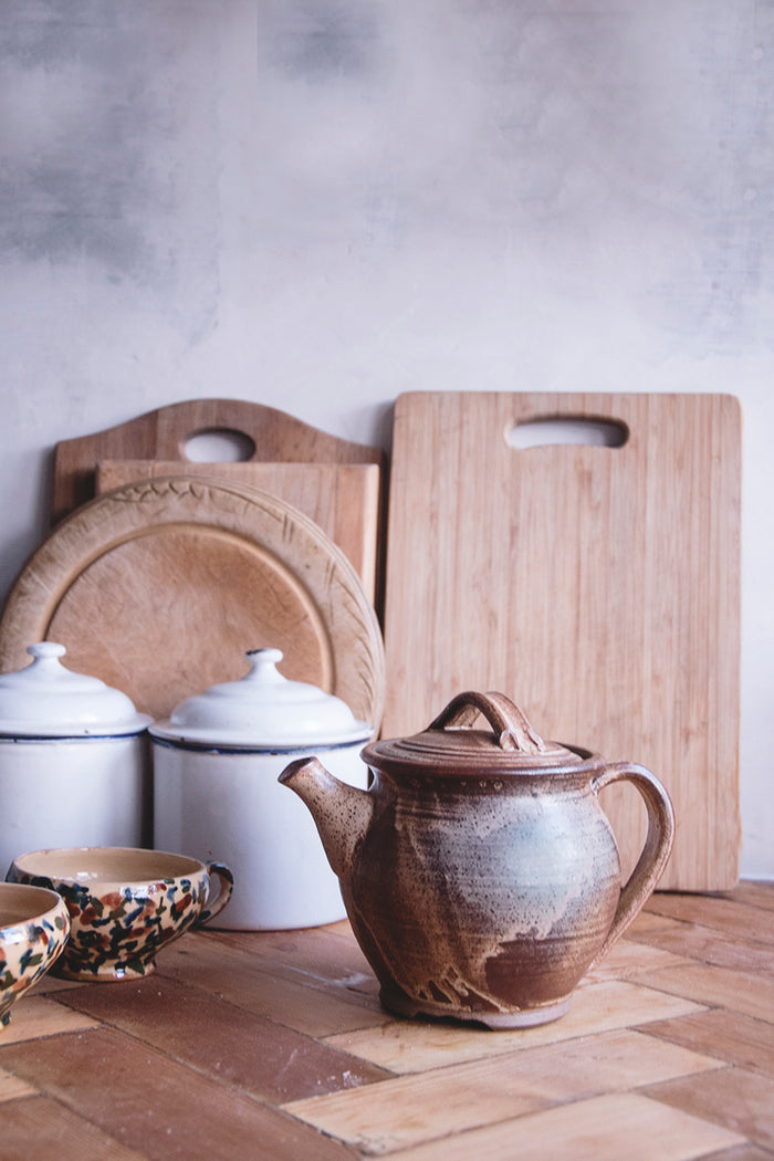 Earthenware Tea Pot