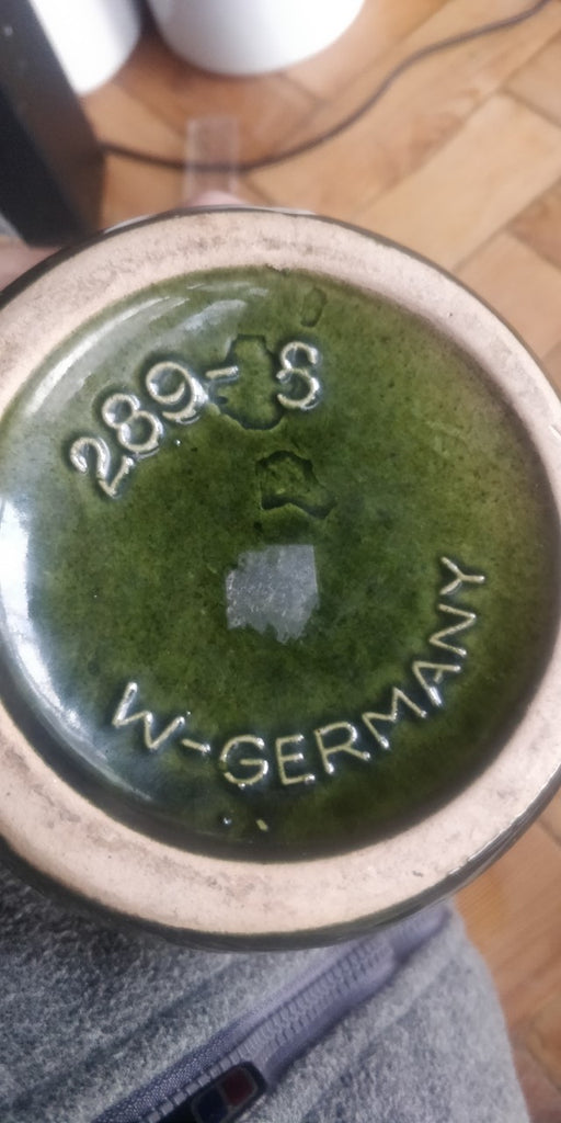 Green West German Vase