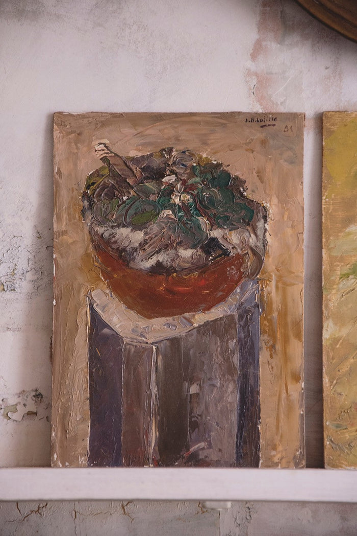 JEAN-ROGER LAFITTE PAINTING - Salad Bowl
