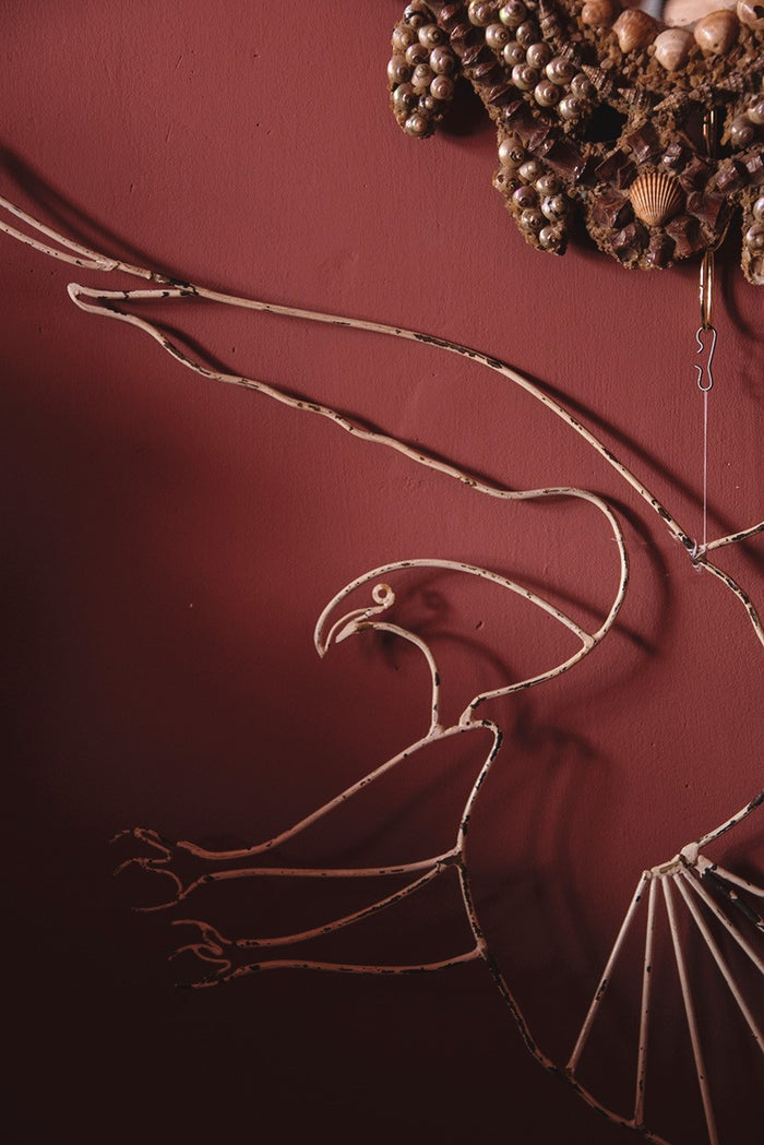 Decorative Wire Eagle