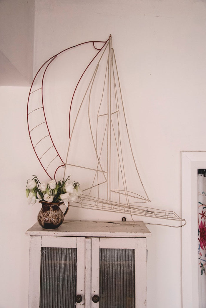 Decorative Wire Boat