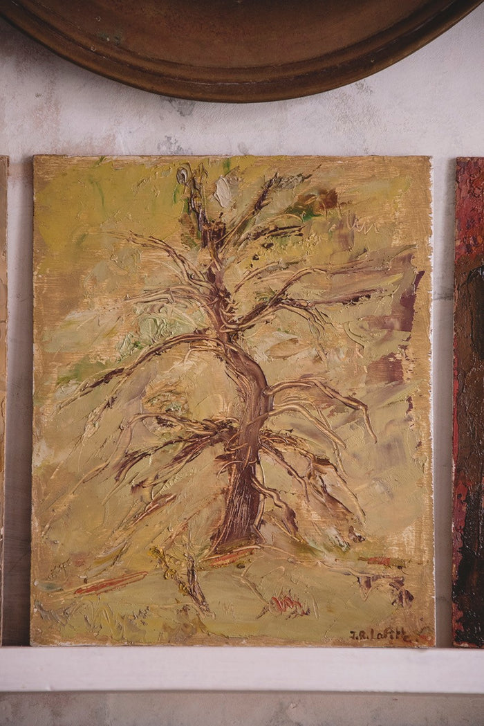 JEAN-ROGER LAFITTE PAINTING - Tree