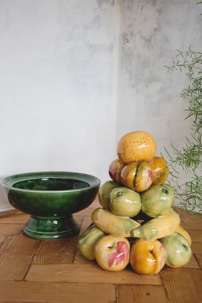 Vintage Ceramic Fruit Topiary