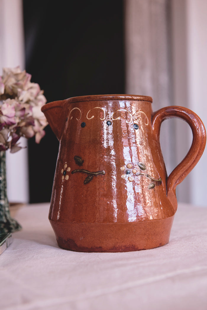 Earthenware Vintage Jug