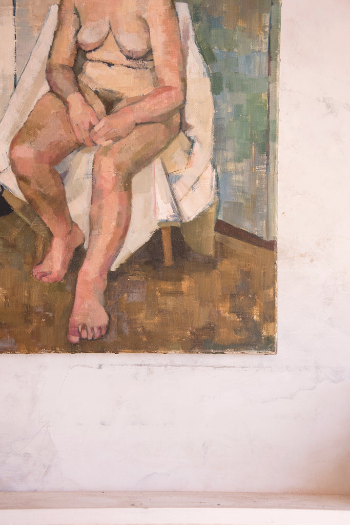 Nude Painting On Canvas