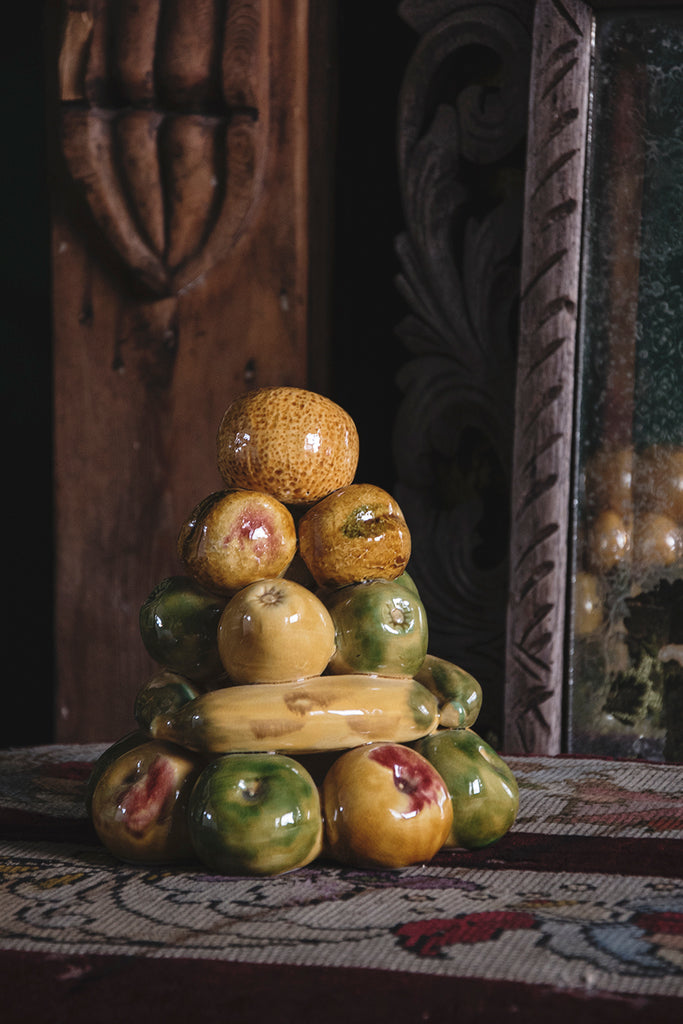 Ceramic Fruit Topiary