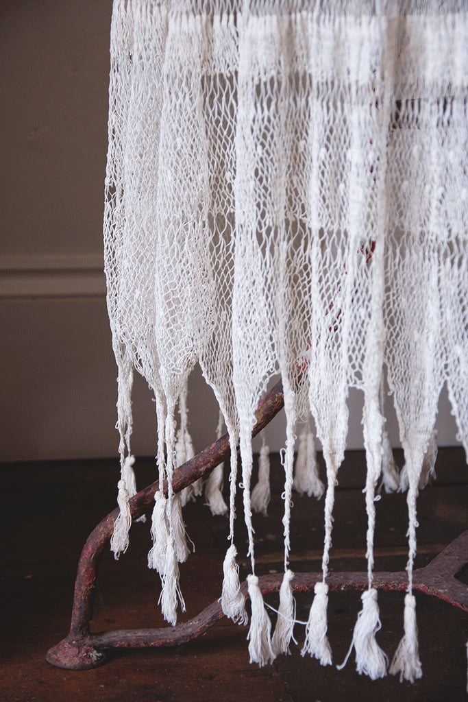 Vintage Crochet Tablecloth