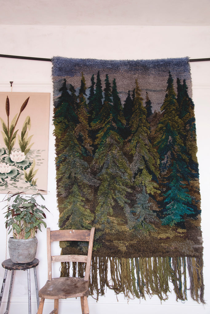 Large Wool Wall Hanging