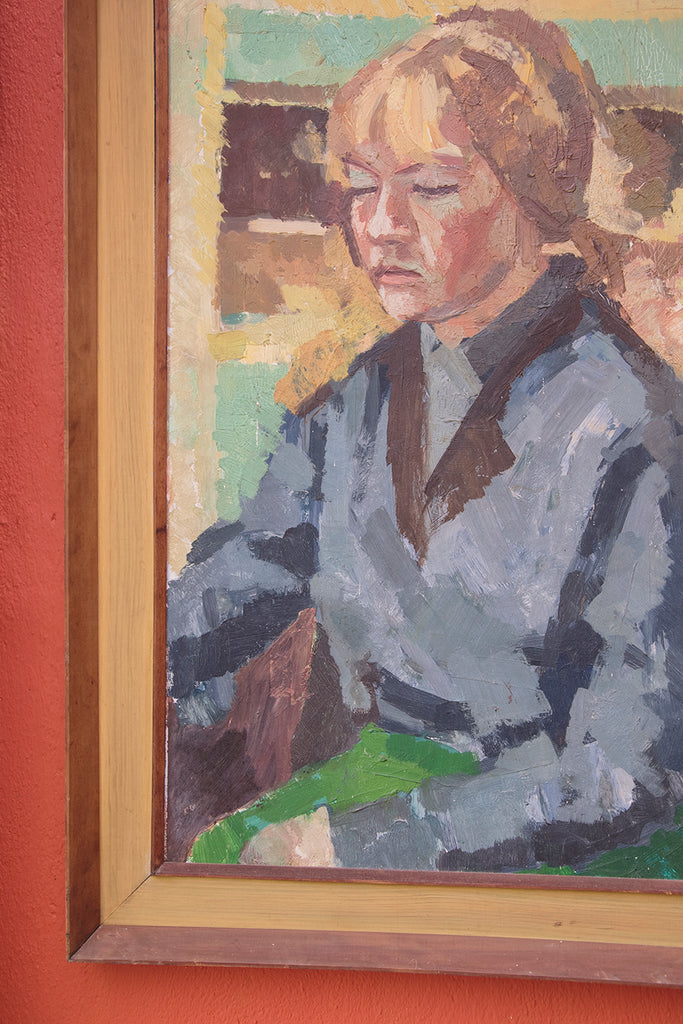 Framed Portrait Of A Women