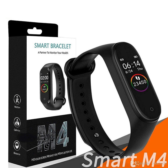 TDG M4 Fitness Smart Band Color Screen Blood Pressure Oxygen Heart Rate Android iOS - YourDeal US