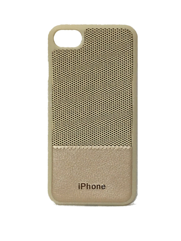 YourDeal Dual Tone Leather Back Cover For Apple iPhone 7 8 (Gold) - YourDeal US