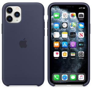 TDG iPhone 11 Pro Silicone Case Midnight Blue - YourDeal US