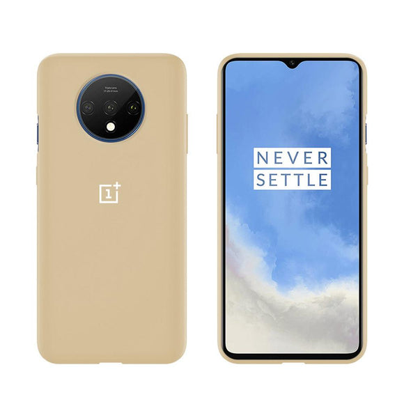 TDG Oneplus 7T Silicone Back Cover Protective Case Stone - YourDeal US