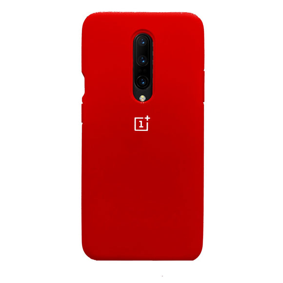 TDG Oneplus 7 Pro OG Silicone Protective Back Case Red - YourDeal US