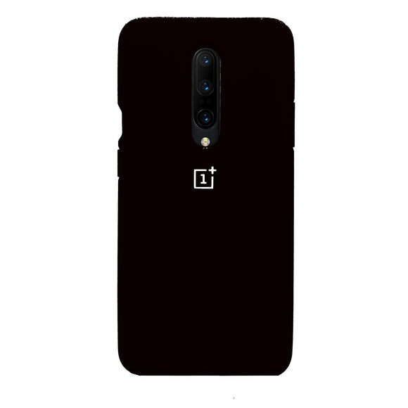 TDG Oneplus 7 Pro Back Cover Silicone Protective Case Black - YourDeal US