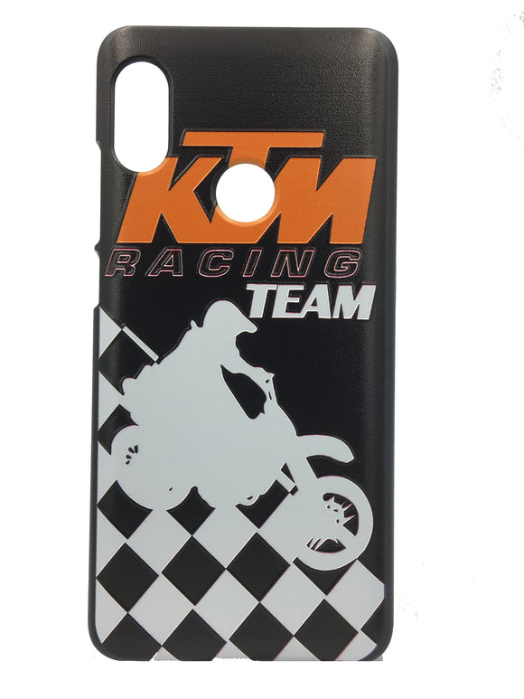 TDG Xiaomi Redmi 6 Pro 3D Texture KTM Printed Hard Back Case Cover - YourDeal US