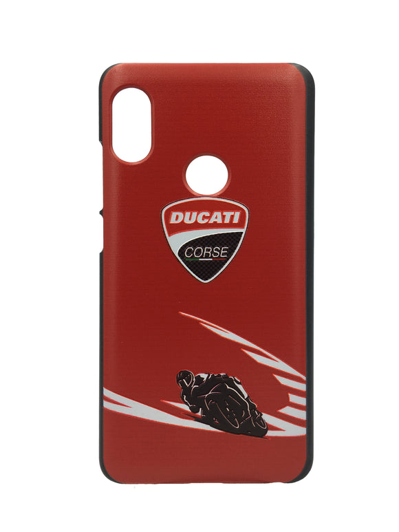 TDG Xiaomi Redmi 6 Pro 3D Texture Printed Ducati Hard Back Case Cover - YourDeal US