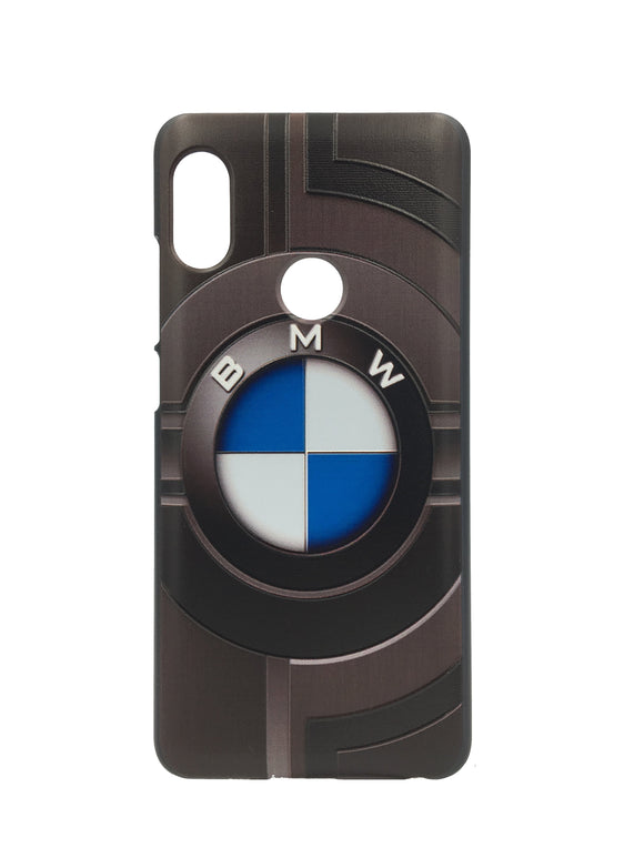 TDG Xiaomi Redmi 6 Pro 3D Texture Printed Luxury Car BMW Hard Back Case Cover - YourDeal US
