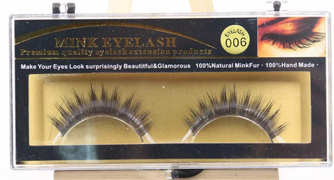 MINK LASHES 006 ONLY $5.99 - Bella Virgin Remy