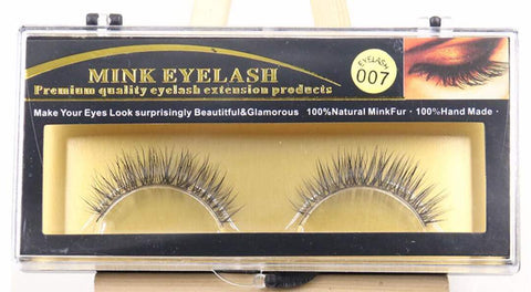 MINK LASHES 007 ONLY $5.99 - Bella Virgin Remy