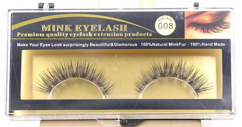 MINK LASHES 008 ONLY $5.99 - Bella Virgin Remy