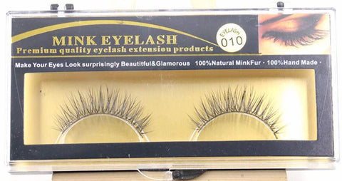 MINK LASHES 010 ONLY $5.99 - Bella Virgin Remy