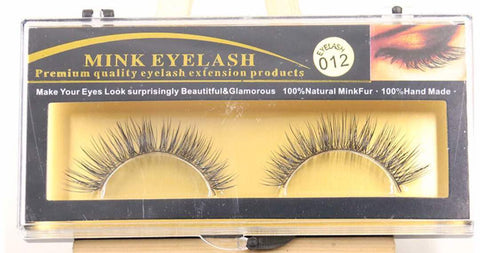 MINK LASHES 012 ONLY $5.99 - Bella Virgin Remy